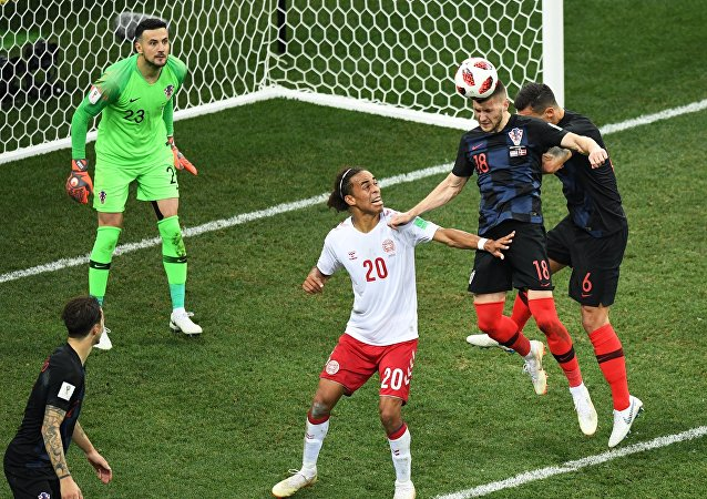 2018 FIFA World Cup Croatia - Denmark, Round of 16