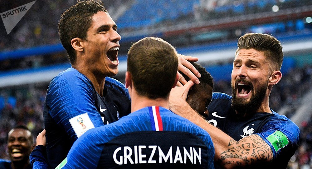 France beat neighbors Belgium 1-0 in St. Petersburg on Tuesday to reach the World Cup final