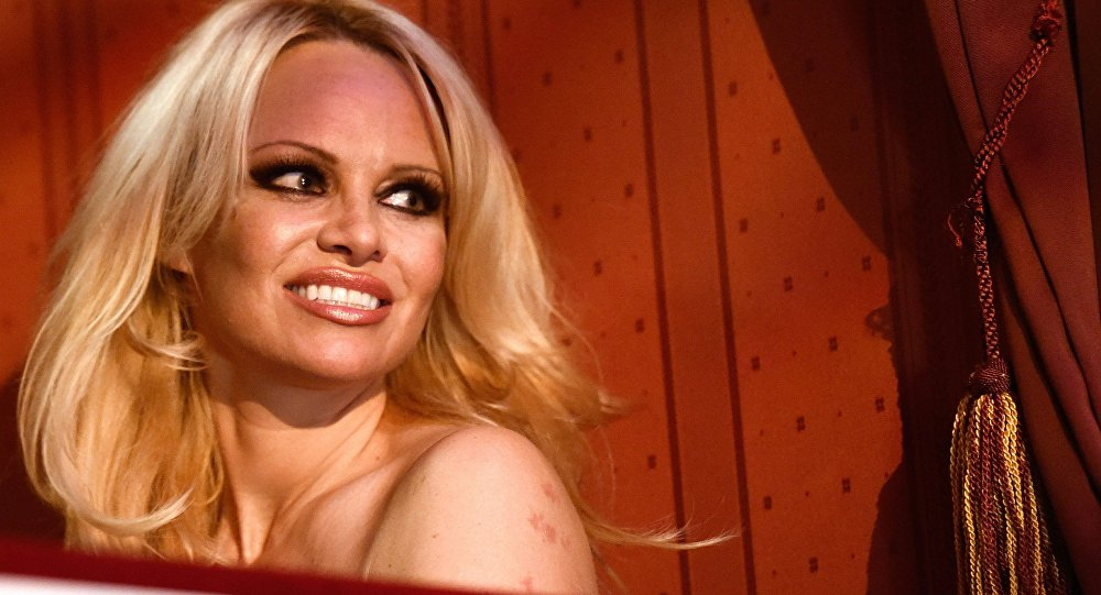 US actress and model Pamela Anderson (File)