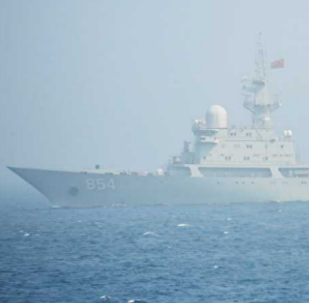 Chinese People's Liberation Army Navy (PLAN) Type 815 Dongdiao-class surveillance vessel