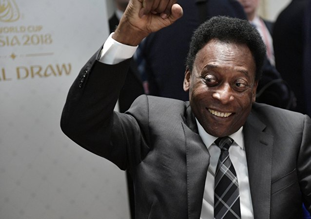 Three-time World Cup winner Pele
