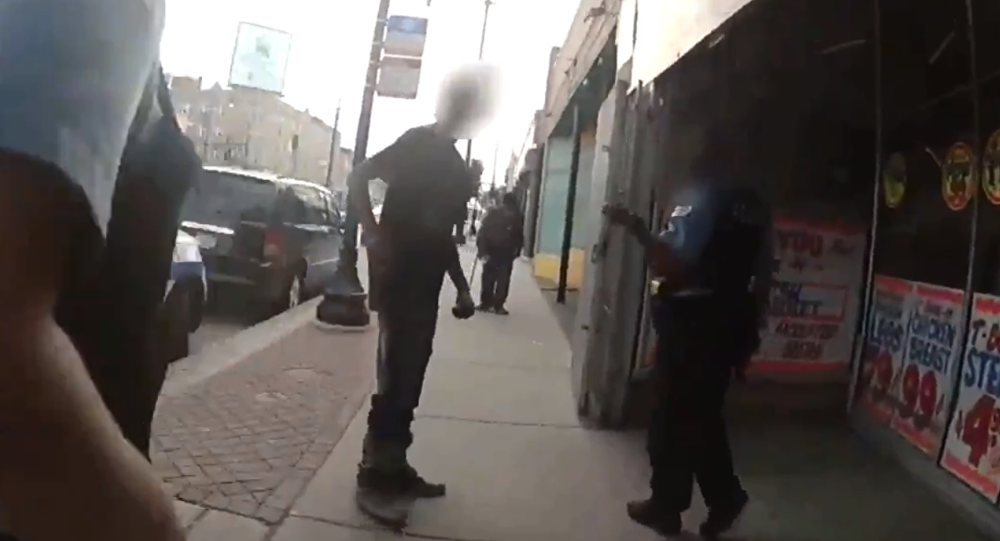 Bodycam footage shows officer with the Chicago Police Department shoot Harith Augustus seven times, killing him