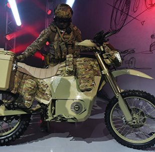 Kalashnikov Concern presents new motor vehicle during the Army 2017 International Military-Technical Forum