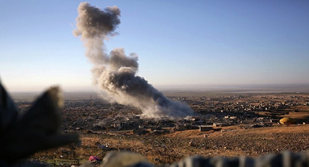 Blast near Syria US-led Coalition Patrol Causes Casualties