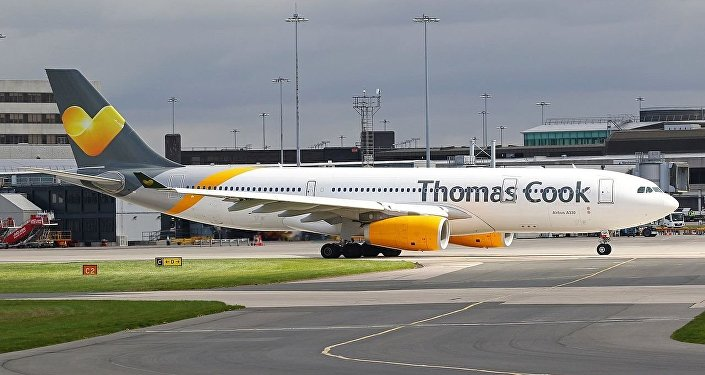 Thomas Cook Airlines Airbus A330-243 (G-VYGK) at Manchester Airport