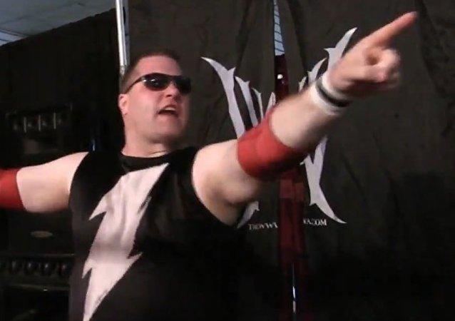 A wrestler named Blitzkrieg