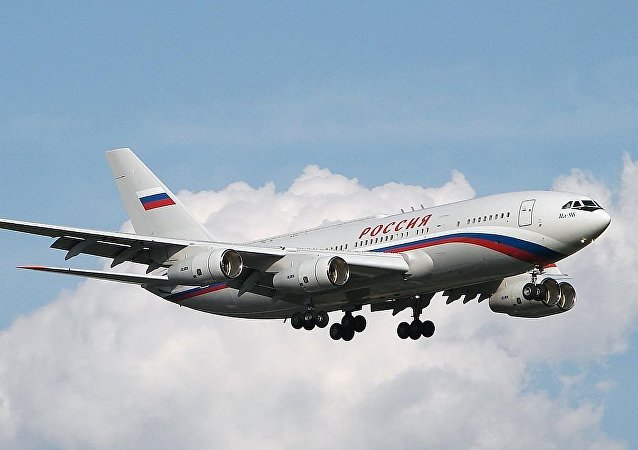 Ilyushin Il-96-300PU RA-96016, the aircraft of Russian President