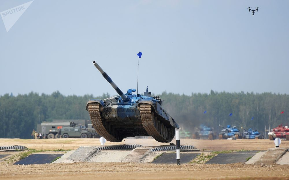 Clash of the Metal Monoliths: Tank Biathlon Starts at International Army Games