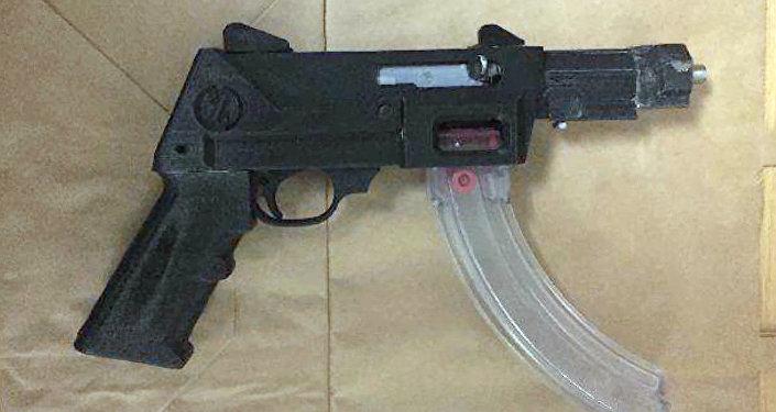 3D-printed gun