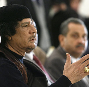 Leader of the Socialist People's Libyan Arab Jamahiriya Muammar Gaddafi. (File)