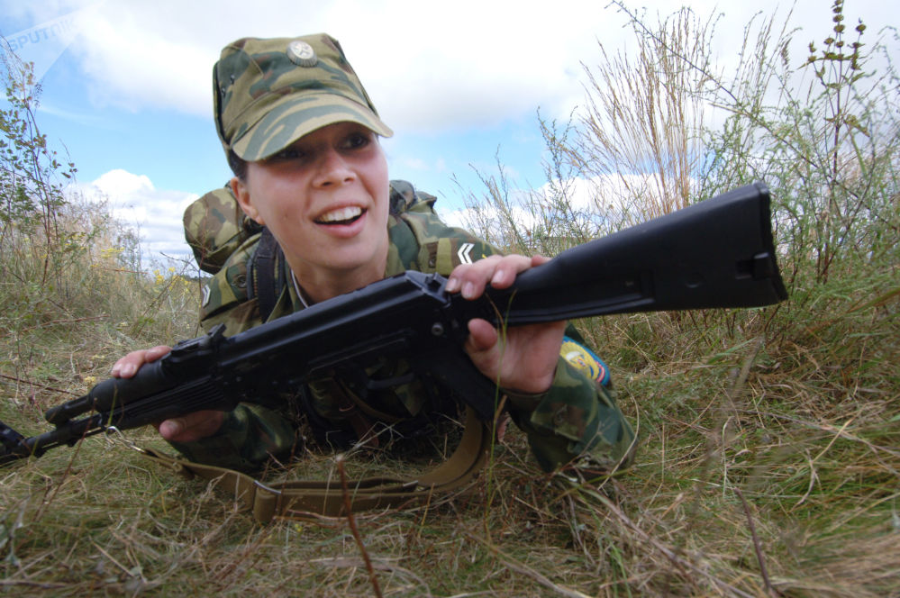 The Men and Women of Russia's Airborne Troops