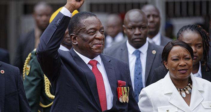 Emmerson Mnangagwa, president of Zimbabwe