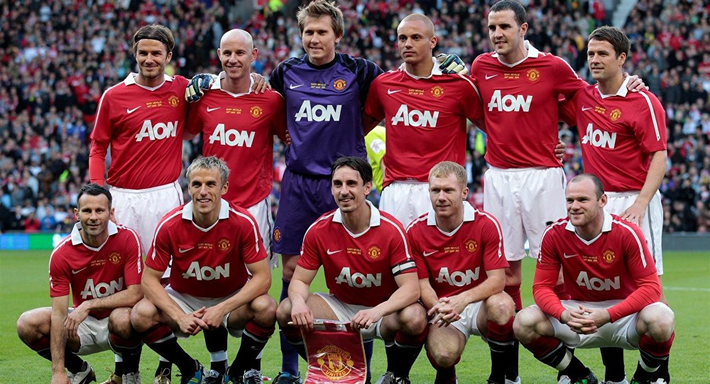 Manchester United Class of 92 team