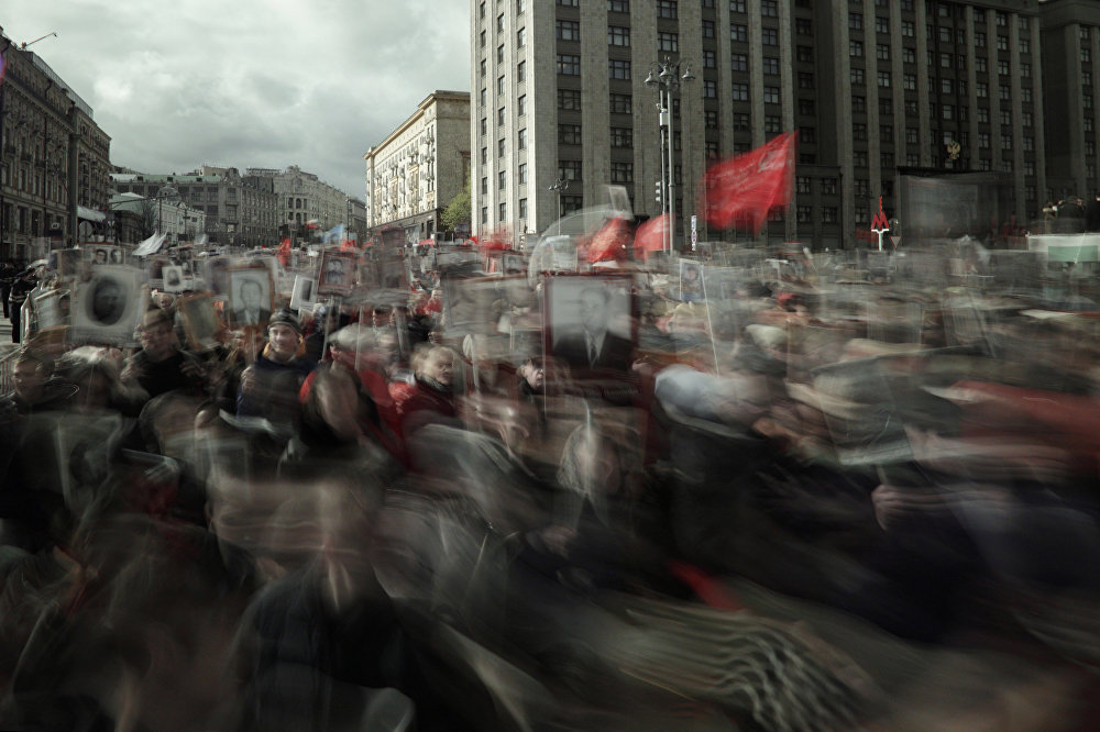 Russia Immortal Regiment Top News, series, honorable mention