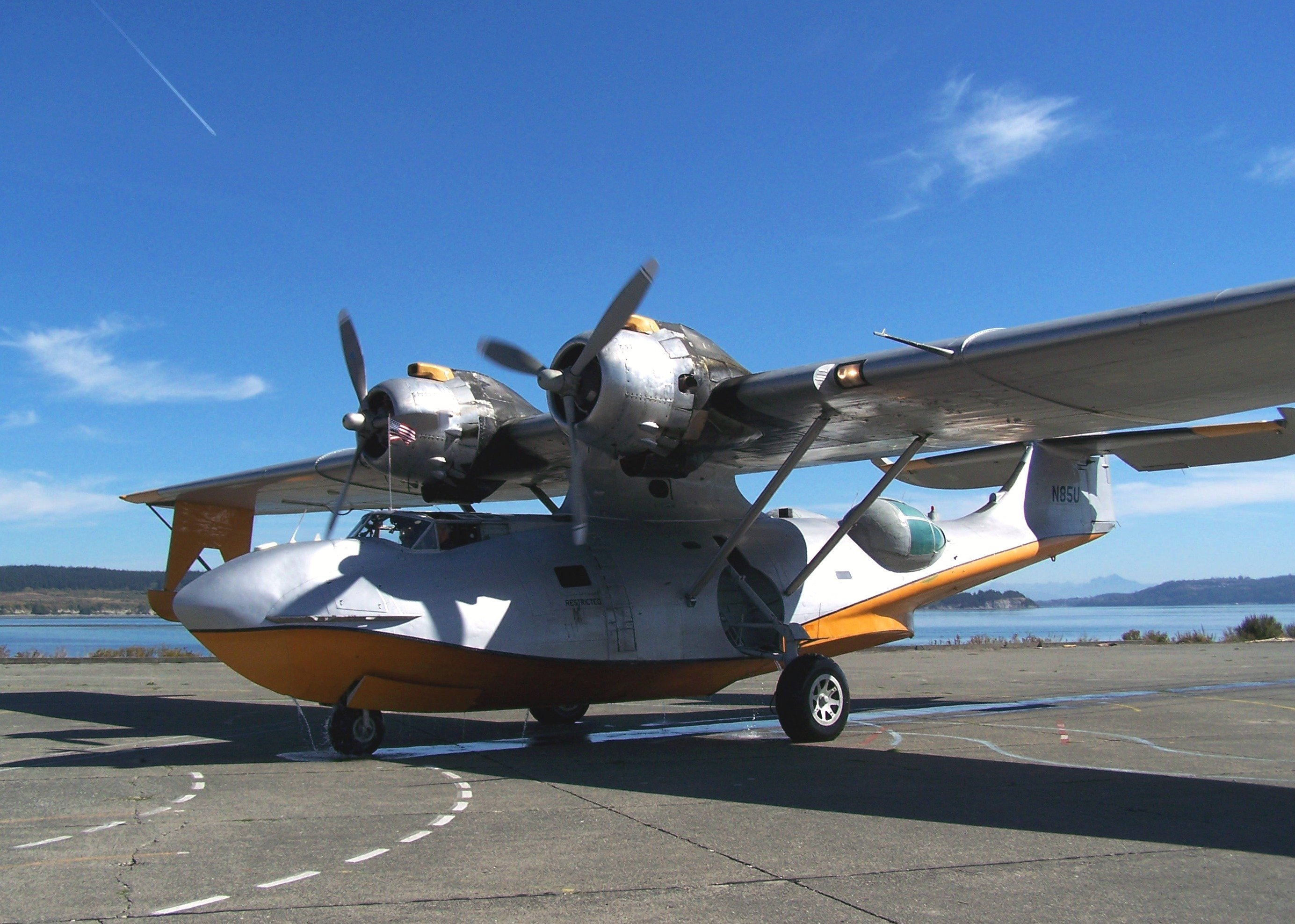 Firefighting variant of the PBY Catalina, file photo.