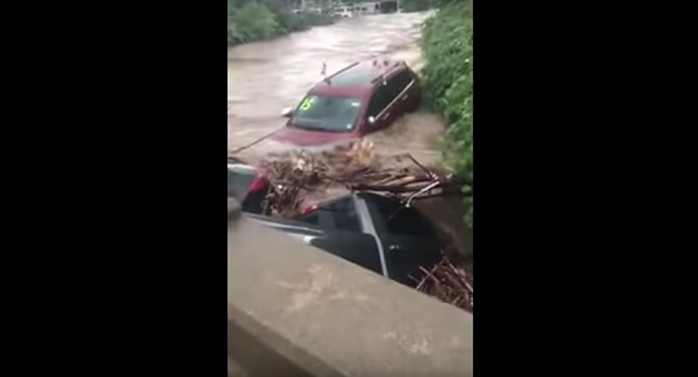 RT 46 Little Falls flood