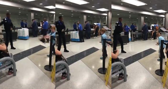 Pre-Flight Flossing: TSA Officer's Dance Skills Receive Screening