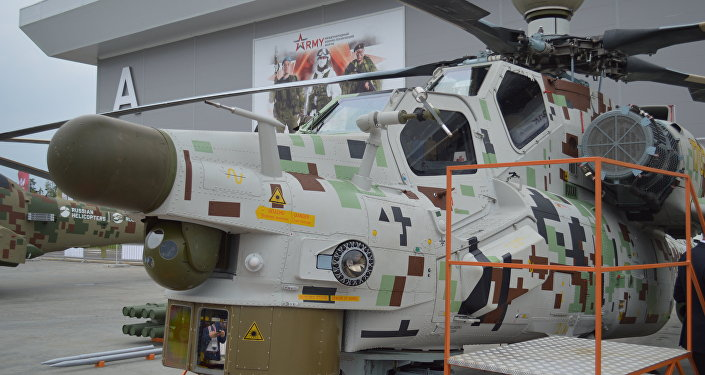 Russian Helicopters Show Off Modern Models at Army 2018