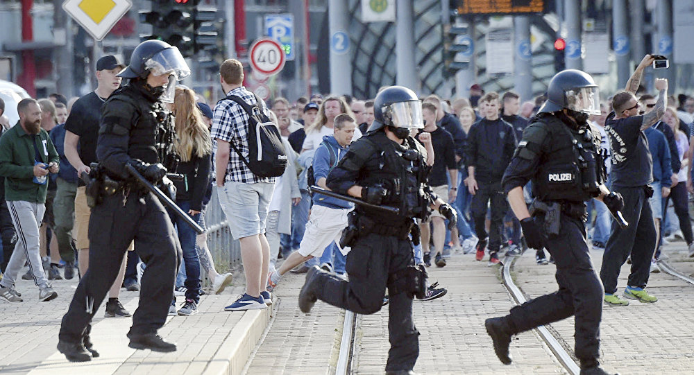 Germany Anti-Migrant Protests After Killing