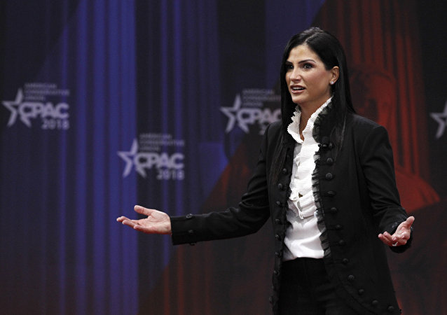 Dana Loesch, spokesperson for the National Rifle Association, speaks at the Conservative Political Action Conference (CPAC), at National Harbor, Md., Thursday, Feb. 22, 2018