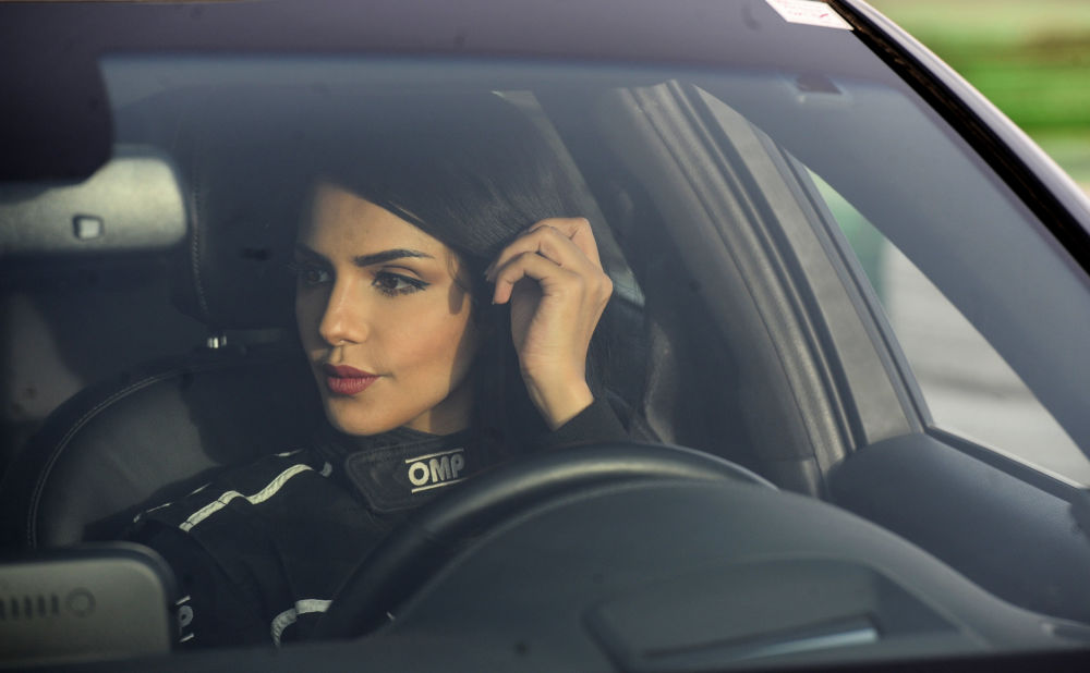 High-Speed Beauty: Meet the Gorgeous Car Racing Lady From Saudi Arabia