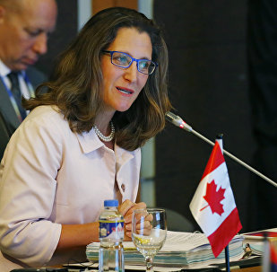 Canadian Foreign Minister Chrystia Freeland