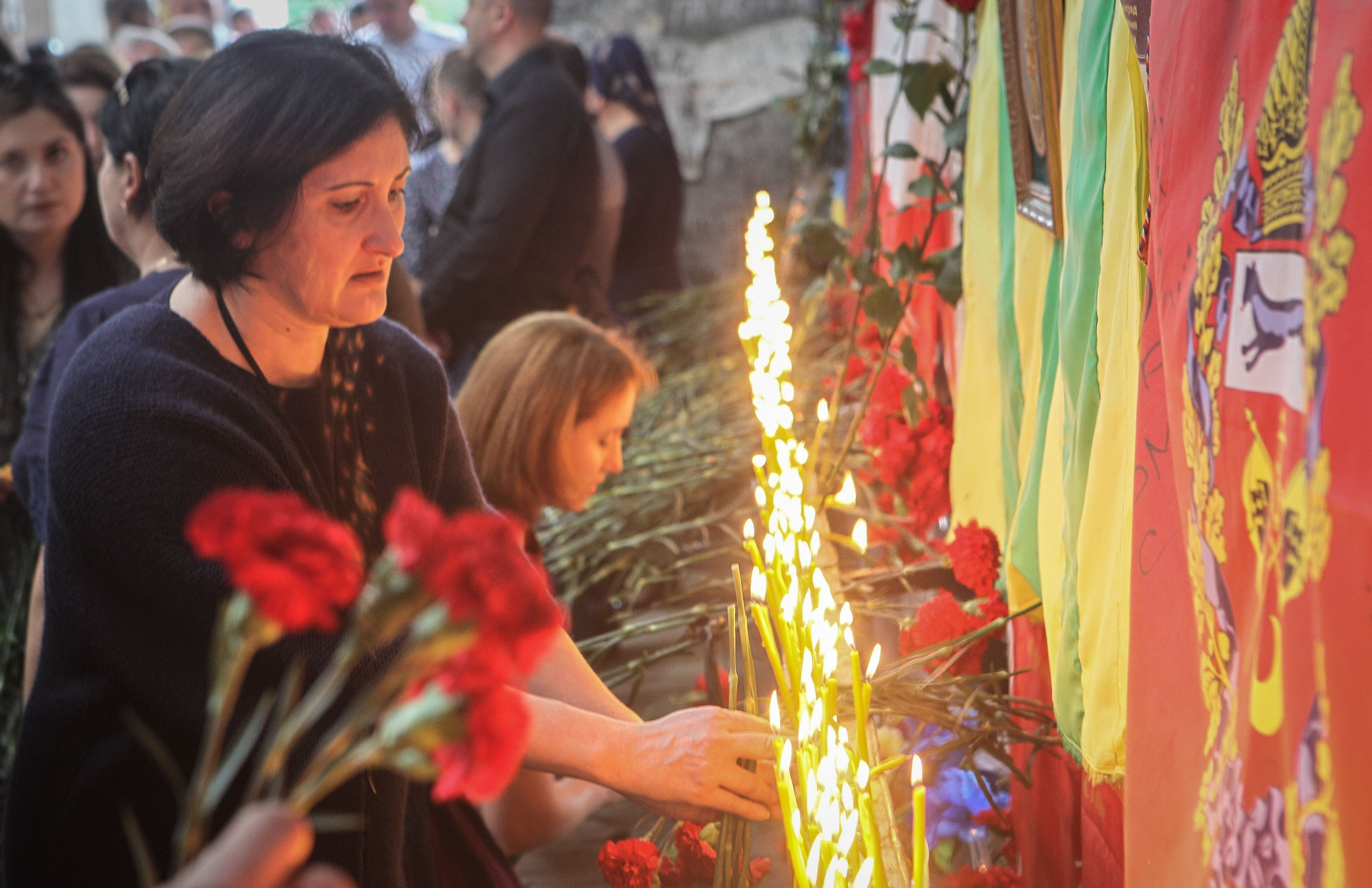 Mourning in Beslan. 2018
