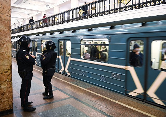 Moscow Metro, Police
