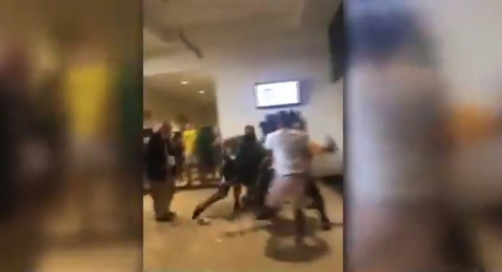 Fight at Notre Dame's Joyce Center