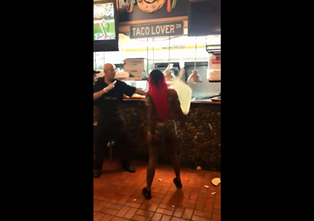 Violent brawl recorded at Chacho's restaurant in San Antonio, Texas