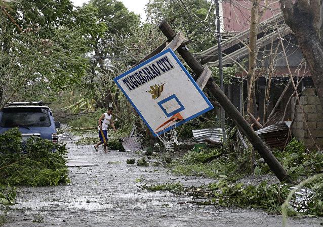 Mangkhut typhoon