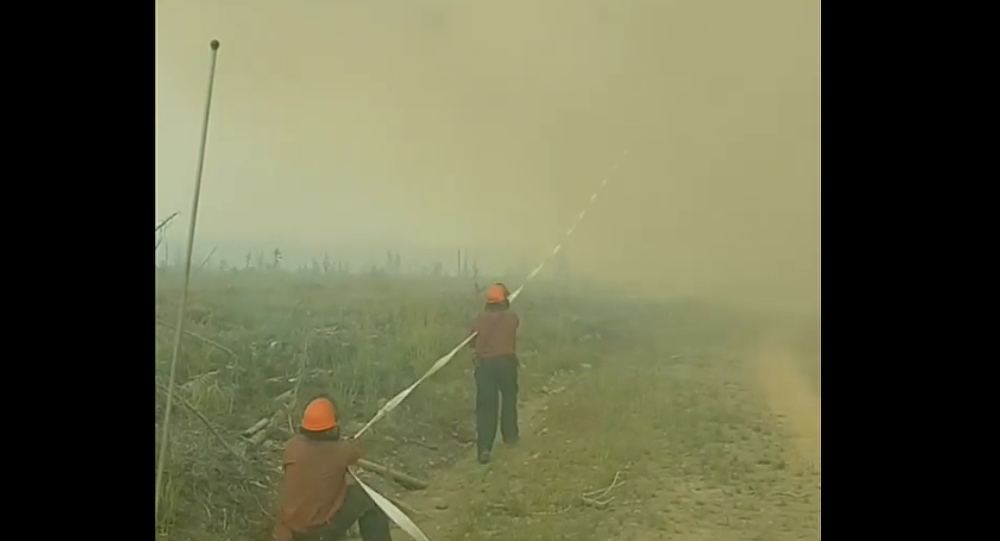 'That's Definitely a First': British Columbia Firefighters Lose Hose to Fire Devil
