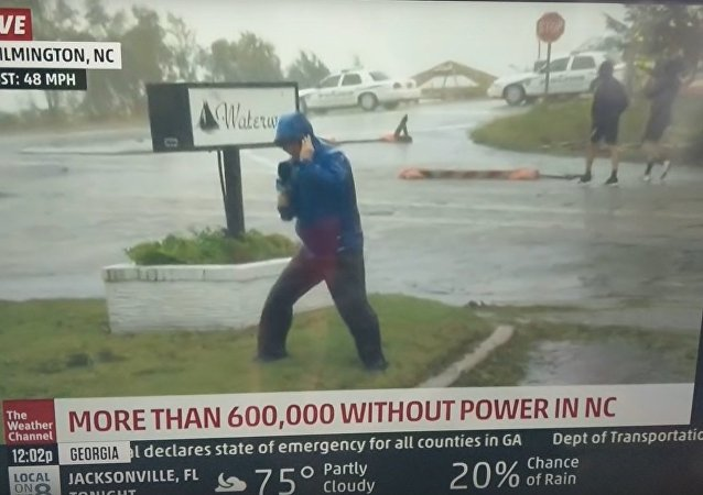 Weather channel drama