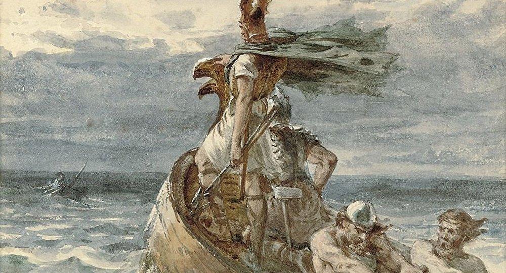 Vikings Heading for Land
