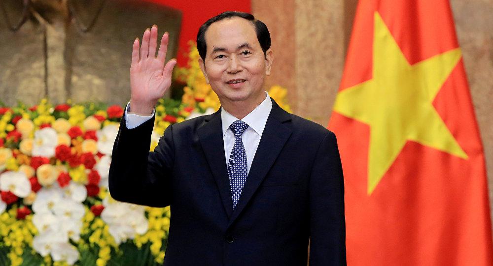 Vietnamese President Tran Dai Quang (File)