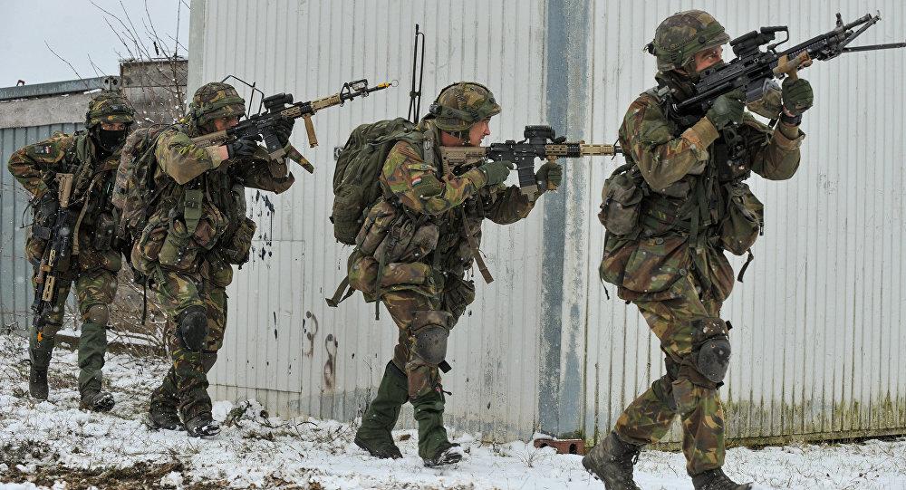Dutch Army at Allied Spirit I