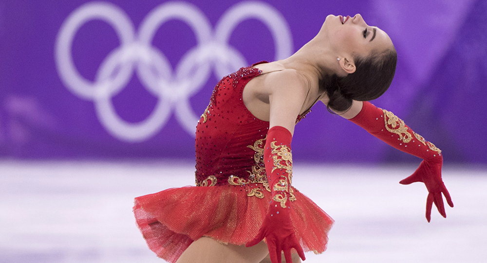 Alina Zagitova, Olympic Athletes of Russia, performs in the women's figure skating free program at the Pyeongchang Winter Olympics Friday, February 23, 2018 in Gangneung, South Korea