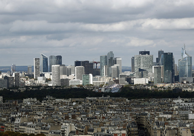 The business district of La Defense, just outside Paris (File)