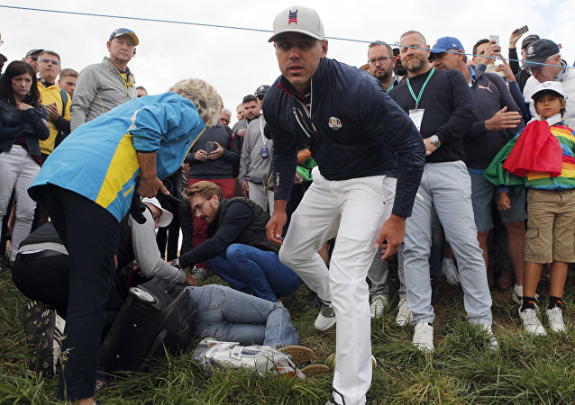 Ryder Cup injury