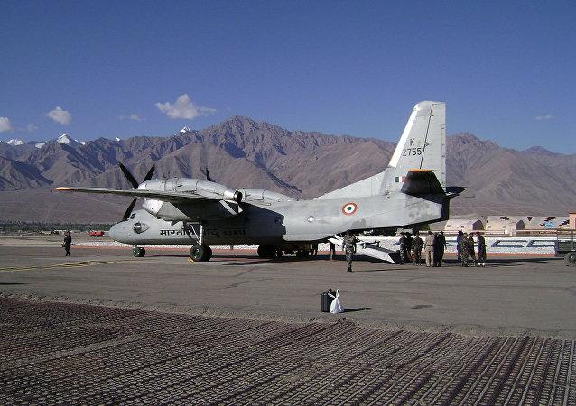 Antonov An-32B of the Indian Air Force at Leh Airbase