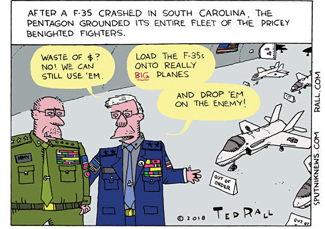 No Skies for F-35s
