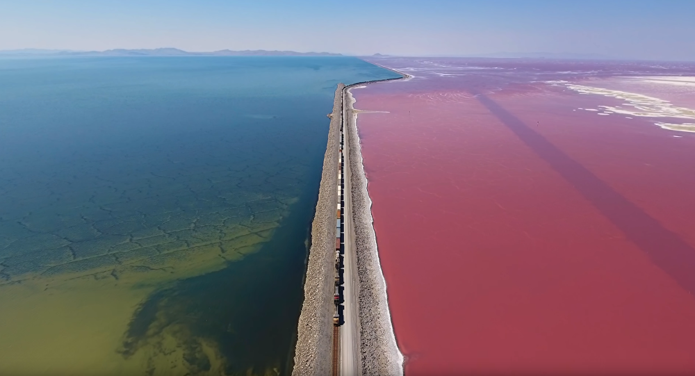 Drone Captures Breathtaking 4K Footage of Utah's Great Salt Lake