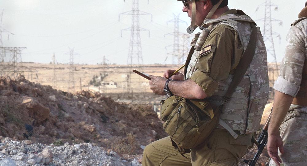 Augusto Ferrer-Dalmau in Aleppo