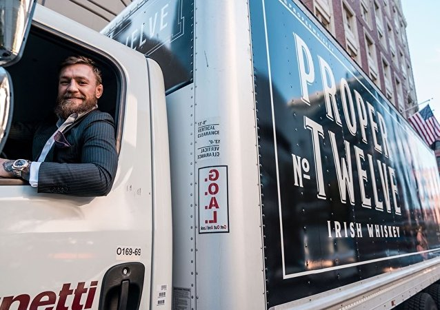 Conor McGregor delivers his own whiskey Proper No. Twelve