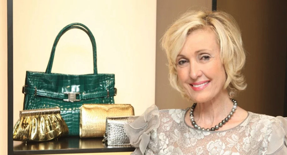 Handbag designer Lana Marks, a Trump-owned Mar-a-Lago member, now the new US ambassador to South Africa