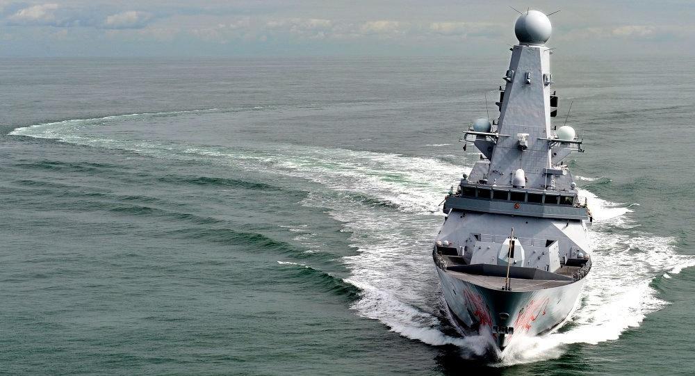 Royal Navy Type 45 Destroyer HMS Dragon