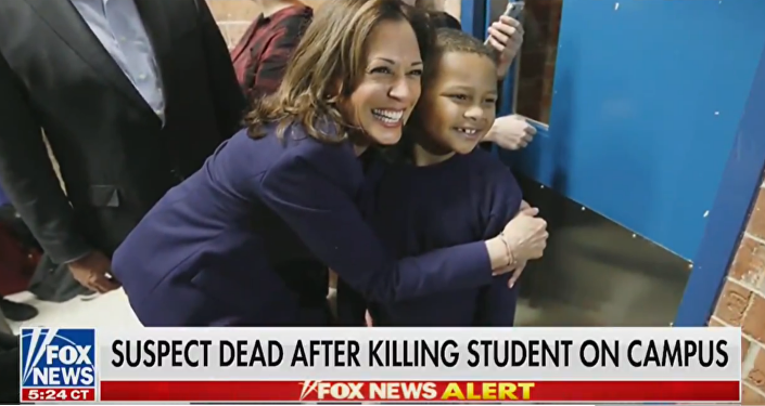 Fox News Mistakenly Shows Sen. Kamala Harris In Alert About Shooting Suspect