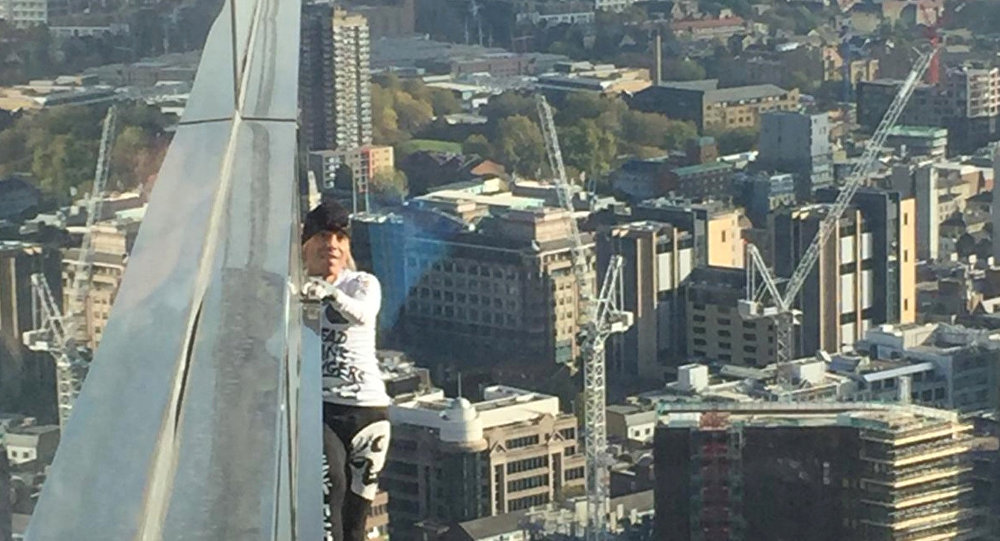 French Spider-Man Climbs 750ft Building