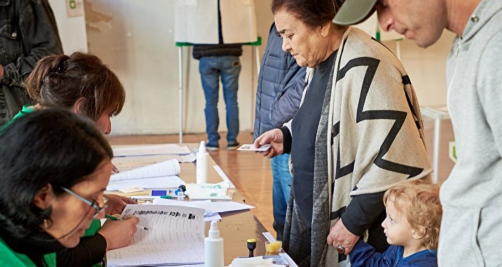 Presidential election in Georgia, 28 October 2018.