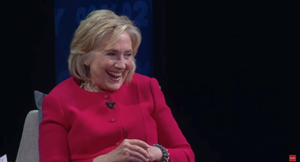 hillary clinton once again dodges 2020 presidential election